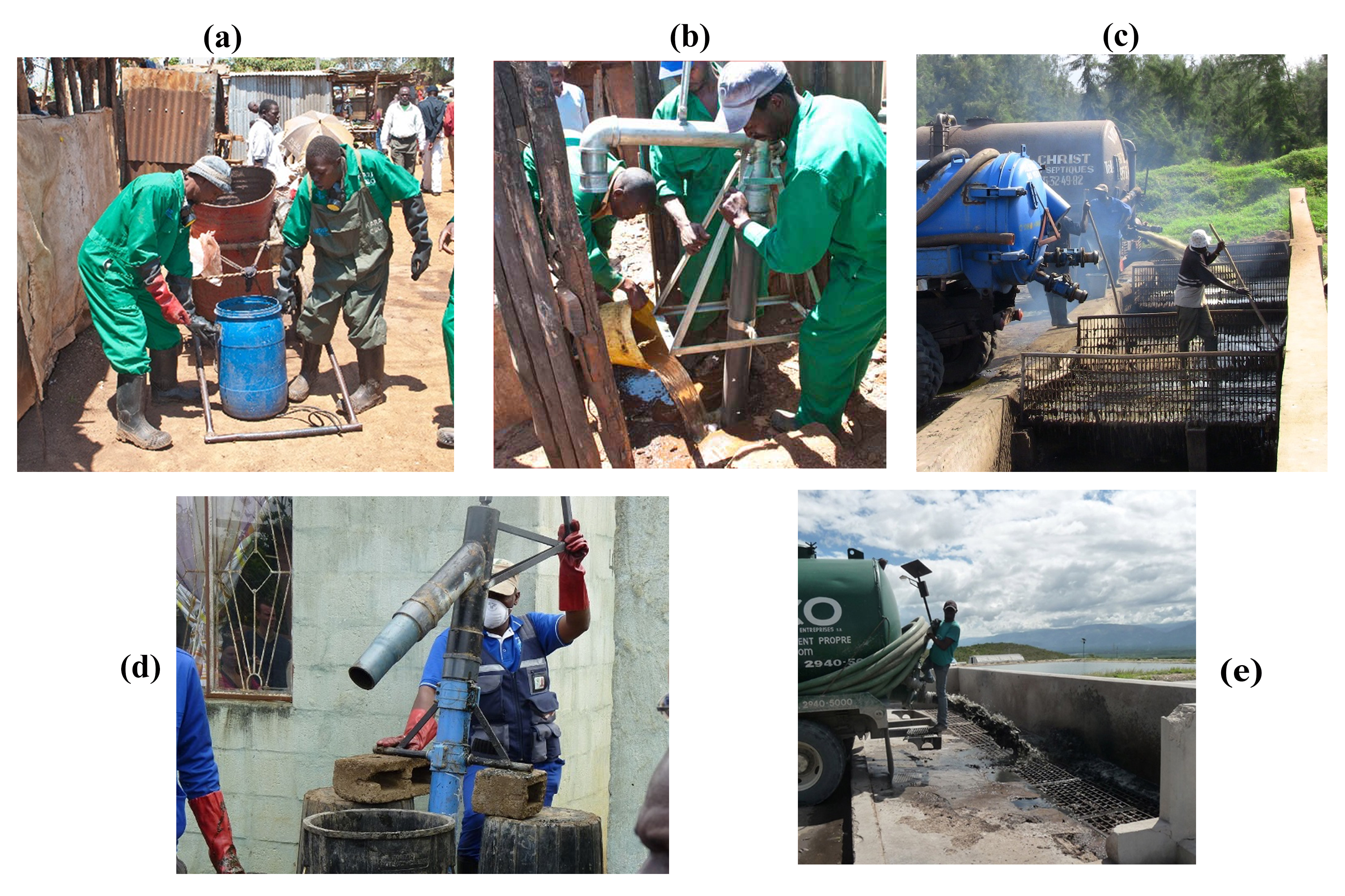 Collection and Conveyance of Excreta and Wastewater in On